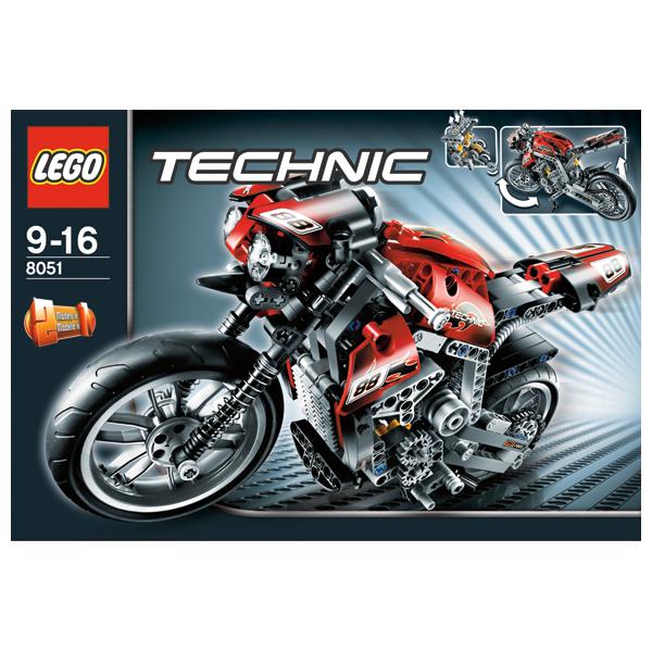 Lego Technic 8051 Конструктор Мотоцикл