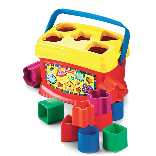 Mattel Fisher-Price K7167 Фишер Прайс Первые кубики малыша развивающие коврики fisher price mattel 3 в 1 розовые джунгли