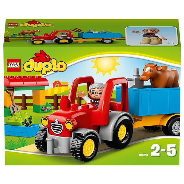 Лего Дупло 10524 Сельскохозяйственный трактор