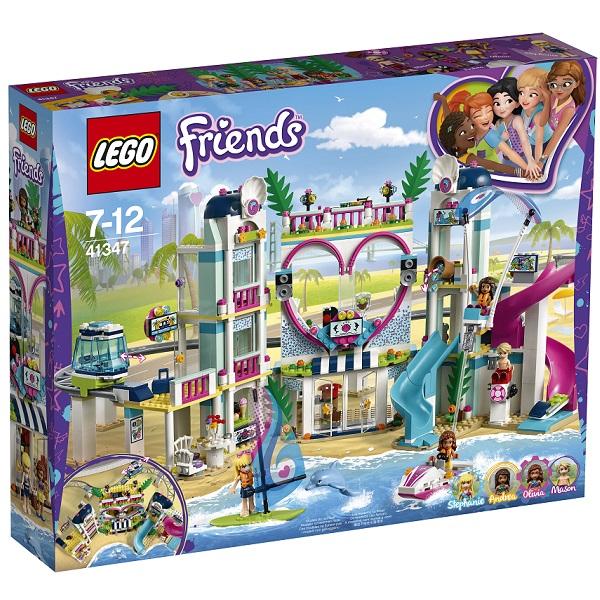 Лего Подружки 41347 Конструктор Курорт Хартлейк-Сити