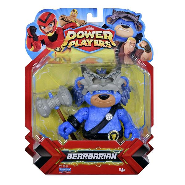 Power Players 38157 Фигурка героя Медвеварвар,13 см
