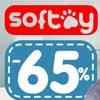 Скидки до 65% на SOFTOY
