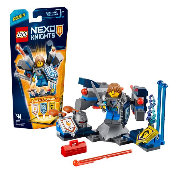 Lego Nexo Knights 70333 Конструктор Лего Нексо Робин – Абсолютная сила