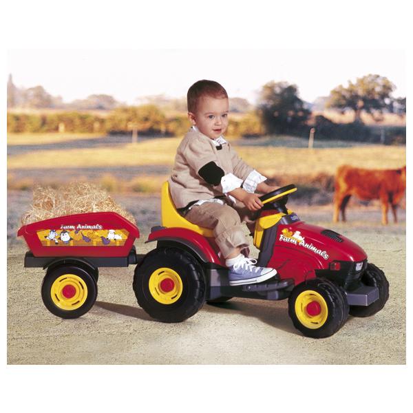 Детский электромобиль Peg-Perego 1066 Farm Animals Trailer