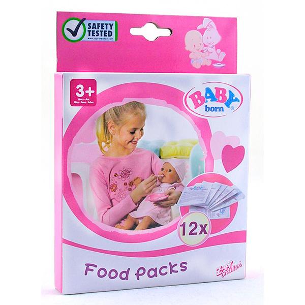 Zapf Creation Baby born 779-170 Бэби Борн Детское питание (12 пакетиков)