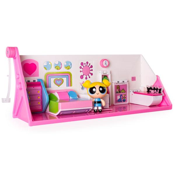 Powerpuff Girls 22309 Переворачивающийся игровой набор 2 в 1 spin master spin master игровой набор chubby puppie розовый