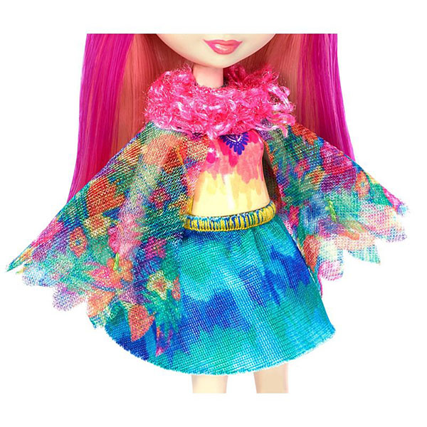 Mattel Enchantimals FJJ21 Кукла с любимой зверюшкой – Пикки Какаду