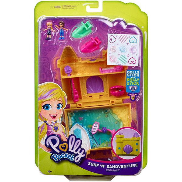 """Mattel Polly Pocket GCJ87 Игровой набор""""Мир Полли"""""""