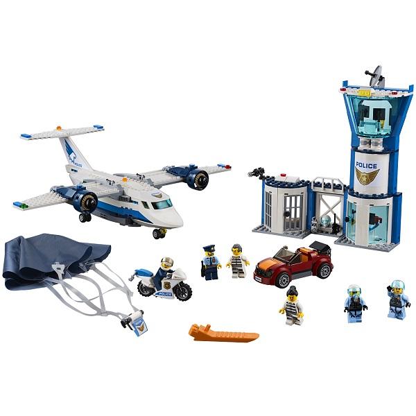LEGO City 60210 Конструктор ЛЕГО Город Воздушная полиция: Авиабаза