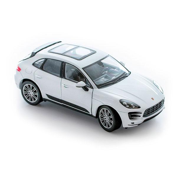 Welly 24047 Велли Модель машины 1:24 Porsche Macan Turbo welly 42348 велли модель машины 1 34 39 porsche cayenne turbo