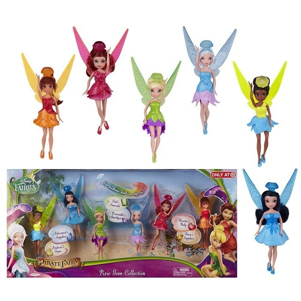 Disney Fairies 688710 Дисней Фея 11 см Набор из 6 кукол цена 2017
