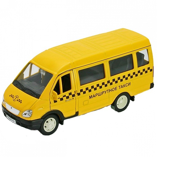 Welly 42387ATI Велли Модель машины 1:34-39 ГАЗель ТАКСИ машины drift машина фрикционная такси