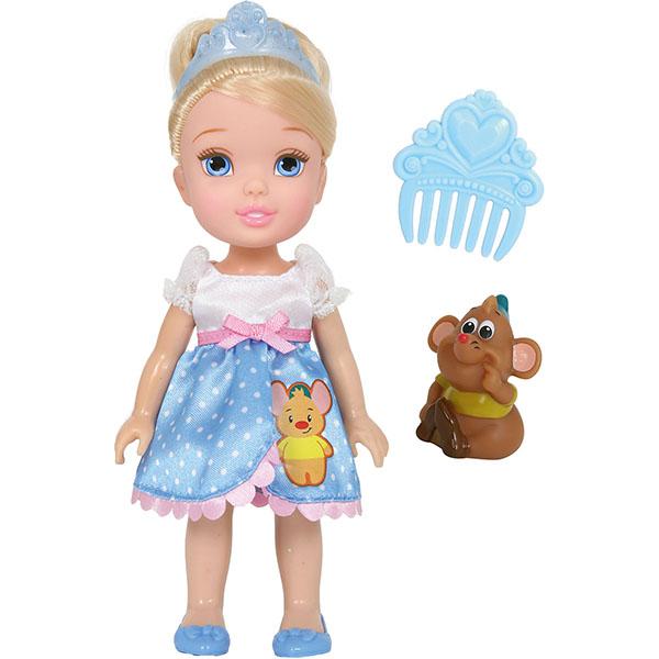 Disney Princess 754920 Принцессы Дисней Малышка с питомцем 15 см, Золушка