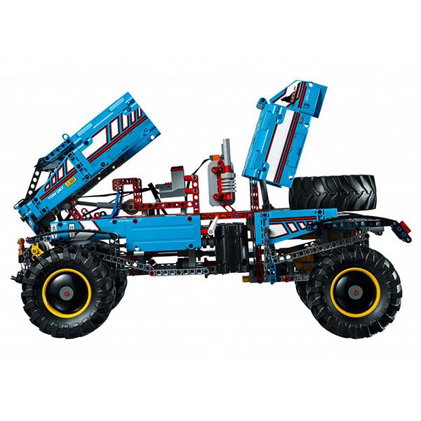 Лего Техник 42070 Конструктор Аварийный внедорожник 6х6
