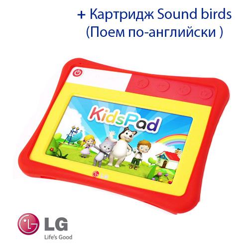 KidsPad ET720NBK2 Планшет KidsPad LG + Картридж Sound birds