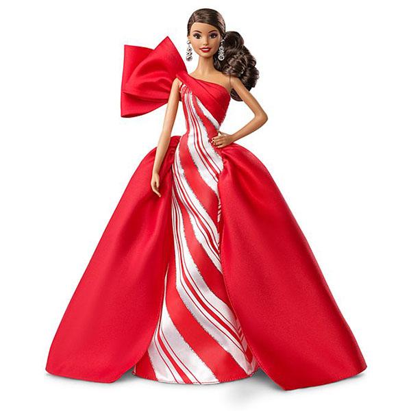 Фото - Mattel Barbie FXF03 Барби Праздничная кукла брюнетка barbie dgx59 барби кукла серия стиль