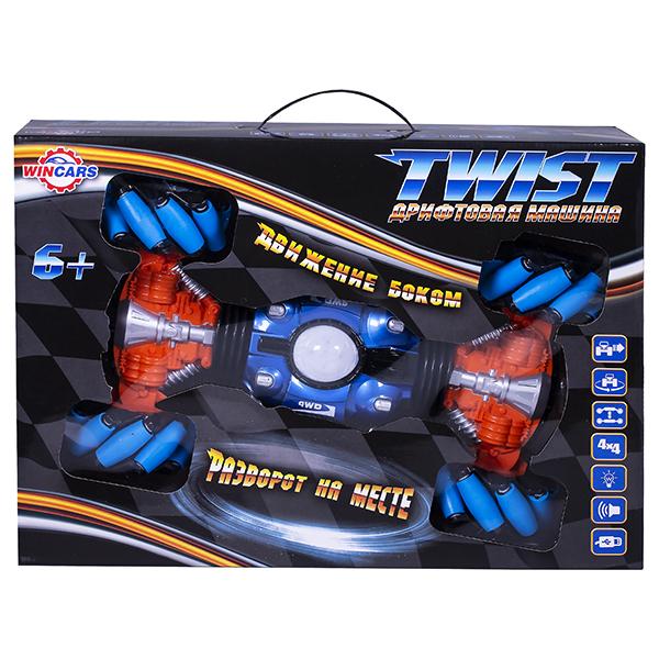 Wincars YK-2031 Машина Twist на катках, ездит боком, меняет высоту, звук, свет, Р/У, USB-зарядка