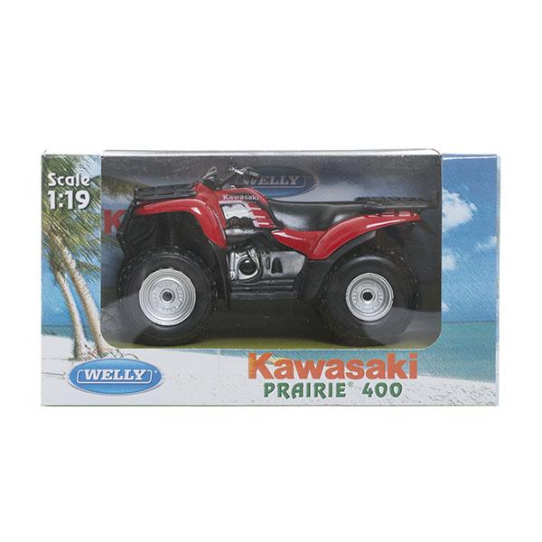 Welly 2652 Велли Модель квадроцикла 1:18 KAWASAKI