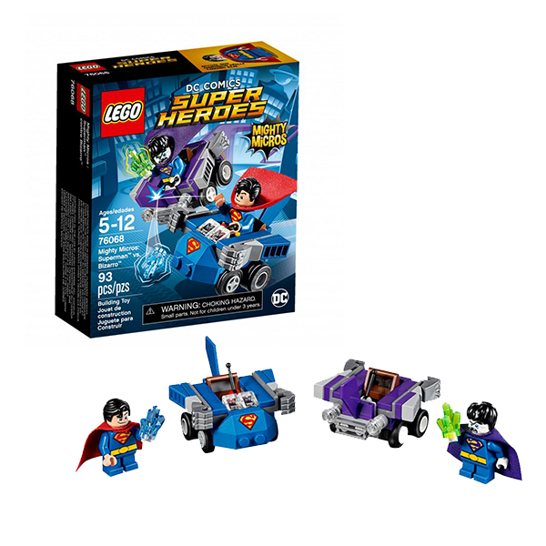 Lego Super Heroes Mighty Micros 76068 Лего Супер Герои Супермен против Бизарро