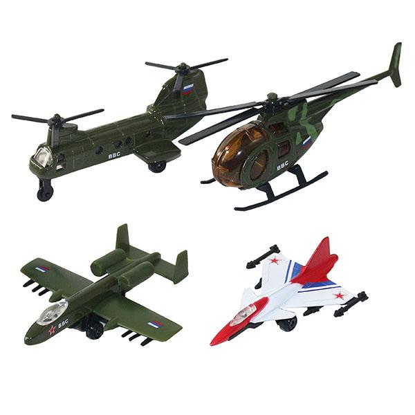 Wincars 20415 Набор военных летательных средств 4 штуки