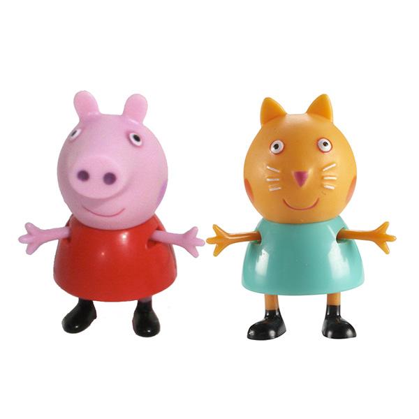 Peppa Pig 28818 Свинка Пеппа Фигурки Пеппа и Кенди игровые фигурки свинка пеппа peppa pig семья пеппы 2 фигурки