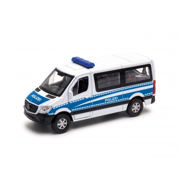 Welly 43731P Модель машины 1:50 Mercedes-Benz Sprinter Полиция