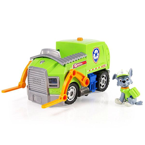 Paw Patrol 16704-g Щенячий патруль Машина-трансформер со звуком зеленая paw patrol 16603 щенячий патруль большой автомобиль спасателей со звуком в ассортименте