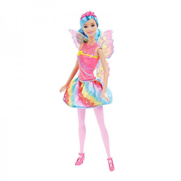 Mattel Barbie DHM56 Барби Кукла-принцесса Rainbow Fashion