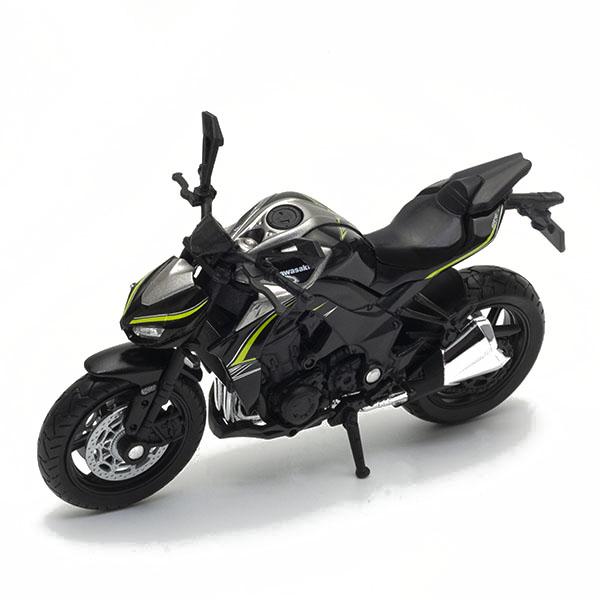 Welly 12846P Велли модель мотоцикла Kawasaki Ninja 1000R welly 12167p велли модель мотоцикла 1 18 motorcycle kawasaki 2001 ninja zx 12r