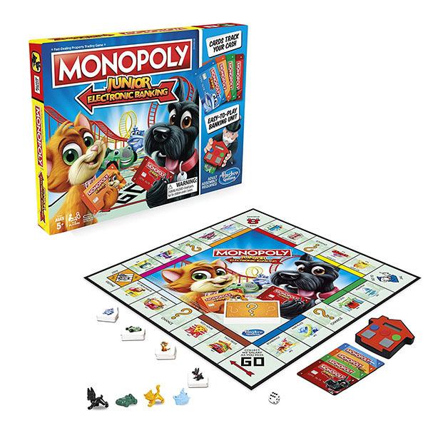 все цены на Hasbro Monopoly E1842 Настольная игра Монополия Джуниор с карточками