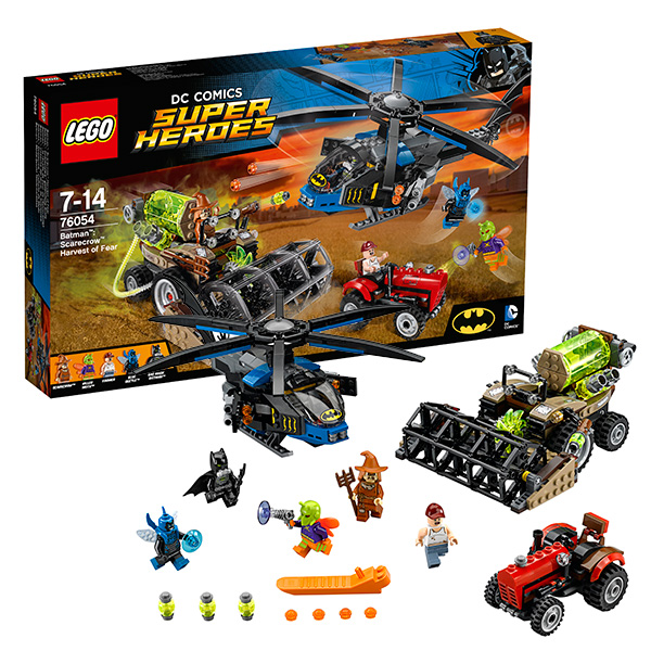 Lego Super Heroes 76054 Лего Супер Герои Бэтмен: Жатва страха конструктор lego super heroes 76054 бэтмен жатва страха