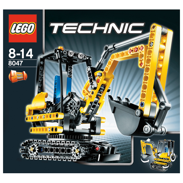 Lego Technic 8047 Компактный экскаватор