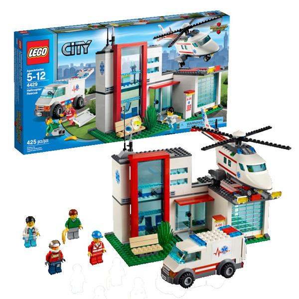 Lego City 4429 Конструктор Лего Город Спасательный вертолёт