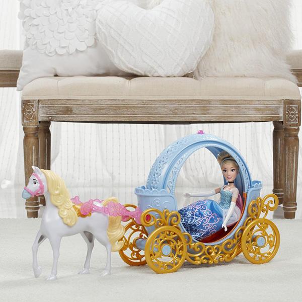 Hasbro Disney Princess B6314 Трасформирующаяся карета Золушки (кукла не входит в набор)