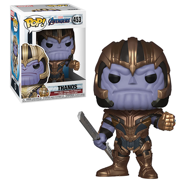 Funko POP 36672F Bobble: Marvel: Avengers Endgame: Thanos 36672