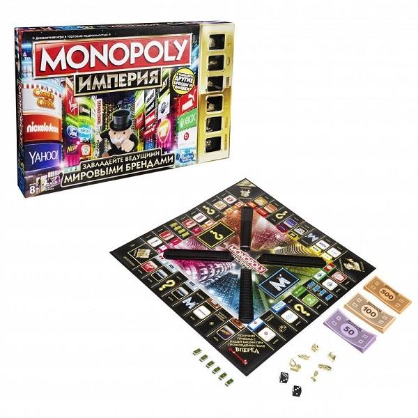 Hasbro Monopoly B5095 Настольная игра Монополия Империя (обновленная) настольная игра hasbro hasbro настольная игра монополия империя обновленная