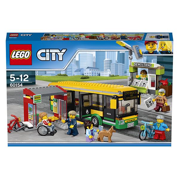 Lego City 60154 Конструктор Лего Город Автобусная остановка