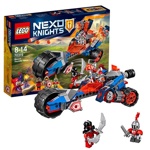 Lego Nexo Knights 70319 Конструктор Лего Нексо Молниеносная машина Мэйси
