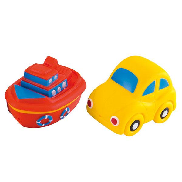 Canpol 250915008 Игрушки для ванны - машины, 4 шт, 12+ Vehicles