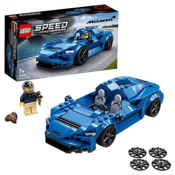 LEGO Speed Champions 76902 Конструктор ЛЕГО Чемпионс McLaren Elva