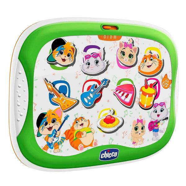 CHICCO TOYS 100251AR Игрушка музыкальная Планшет 44 Котенка интерактивные игрушки chicco овечка lullaby музыкальная