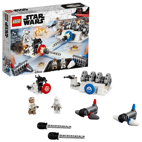 LEGO Star Wars 75239 Конструктор ЛЕГО Звездные Войны Разрушение генераторов на Хоте lego star wars 75193 конструктор лего звездные войны микрофайтер сокол тысячелетия