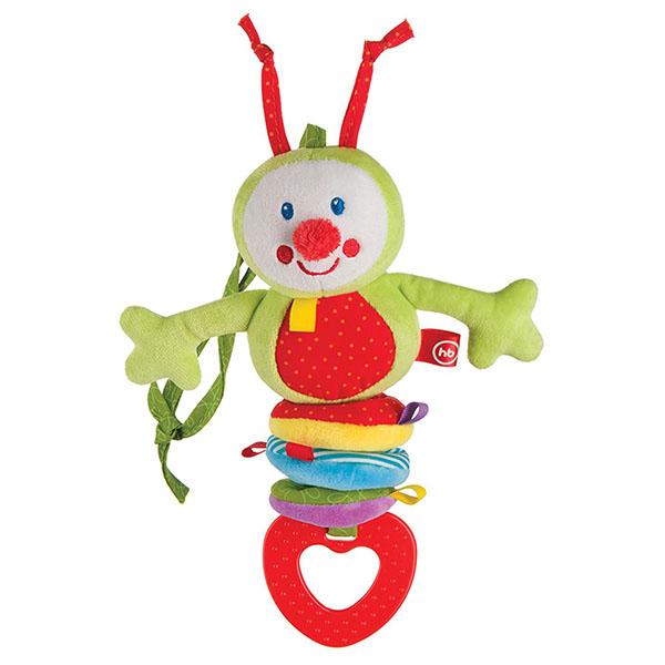Happy Baby 330344 Подвесная игрушка-растяжка Гусеница