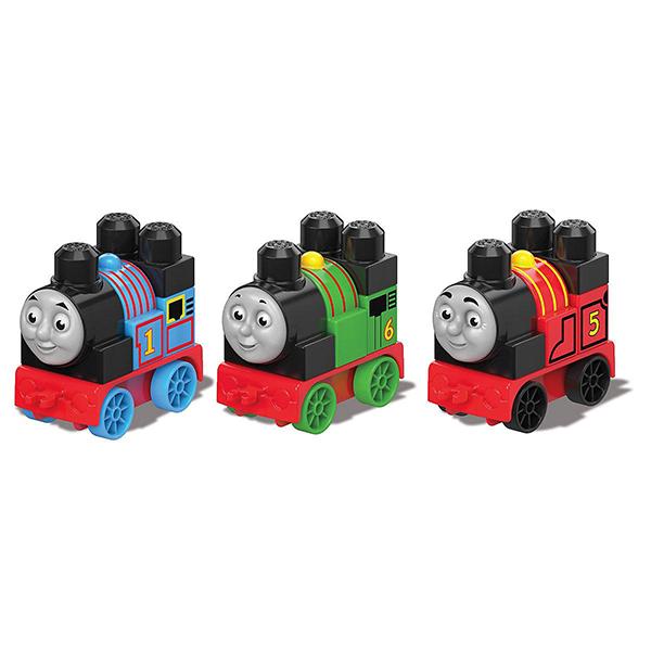 цена на Mattel Mega Bloks DXH47 Мега Блокс Томас и друзья: паровозики (в ассортименте)