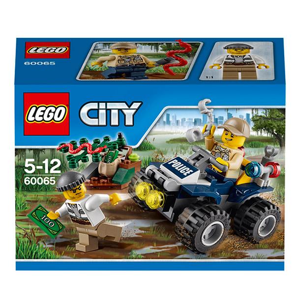 LEGO City 60065 Конструктор ЛЕГО Город Патрульный вездеход