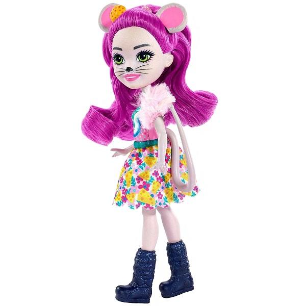 Mattel Enchantimals FXM76 Кукла с питомцем Мышка Майла mattel enchantimals frh40 кукла с питомцем волчица винсли