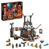 Подземелье Колдуна-скелета LEGO Ninjago