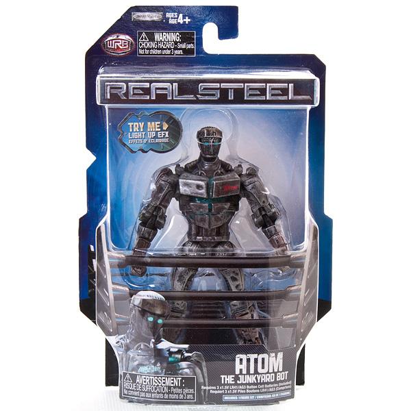 Real Steel 31350 Живая сталь Боевой робот 13 см со свет. эффектами (в ассортименте)