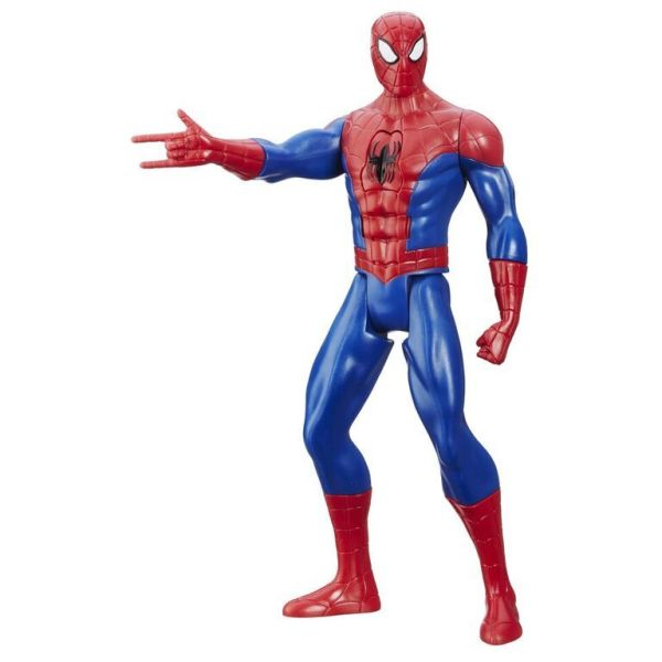 Spider-Man B5757 Титаны: Электронные Фигурки Человека-Паукa, в ассортименте
