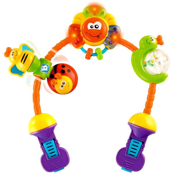 B kids 073594 Детская игрушка для коляски Удивительная радуга k s kids пчелка для коляски